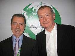 Steve davis With Patsy