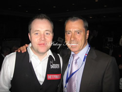 John Higgins And Patsy At The Snooker Champions Party